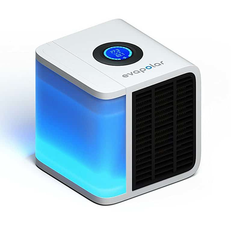 Evapolar Personal Air Cooler + Humidifier LED lights