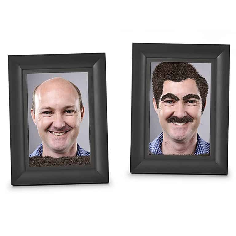 Fred & Friends Fuzzy Face Magic Magnetic Picture Frame