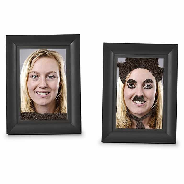Fred & Friends Fuzzy Face Magic Magnetic Picture Frame Photo Frames