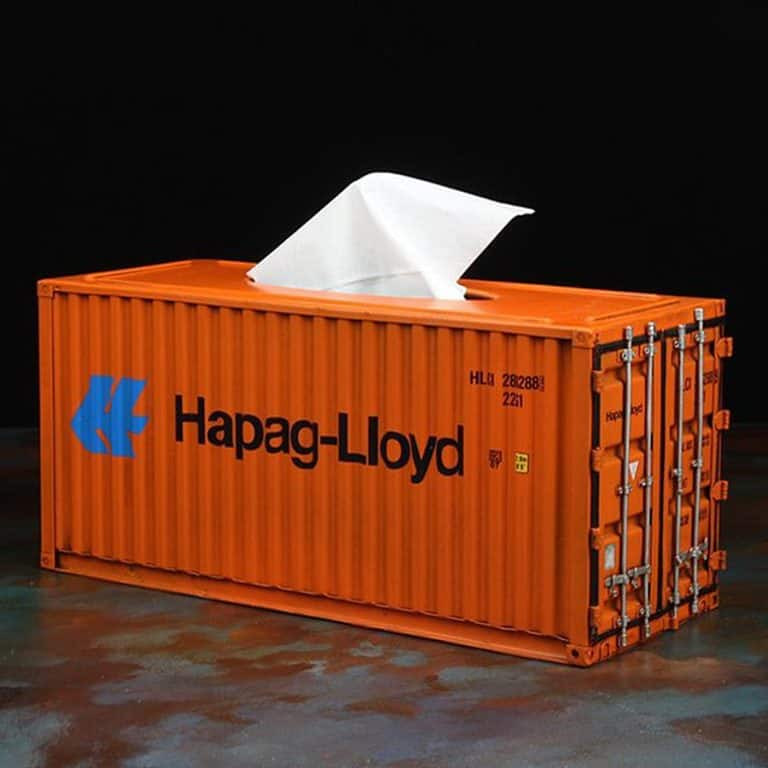 InfPass Handmade Antique Container Tissue Box Bathroom Accessory