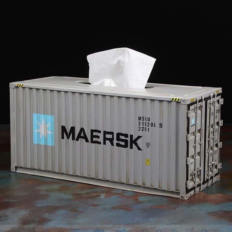 InfPass Handmade Antique Container Tissue Box Holder