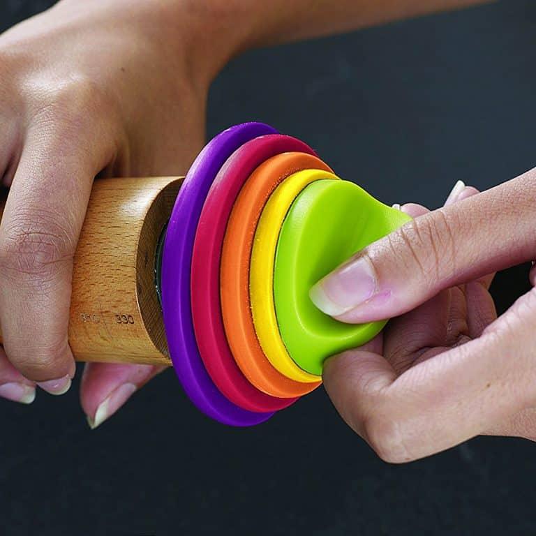 Joseph Joseph Adjustable Rolling Pin Measuring Rings