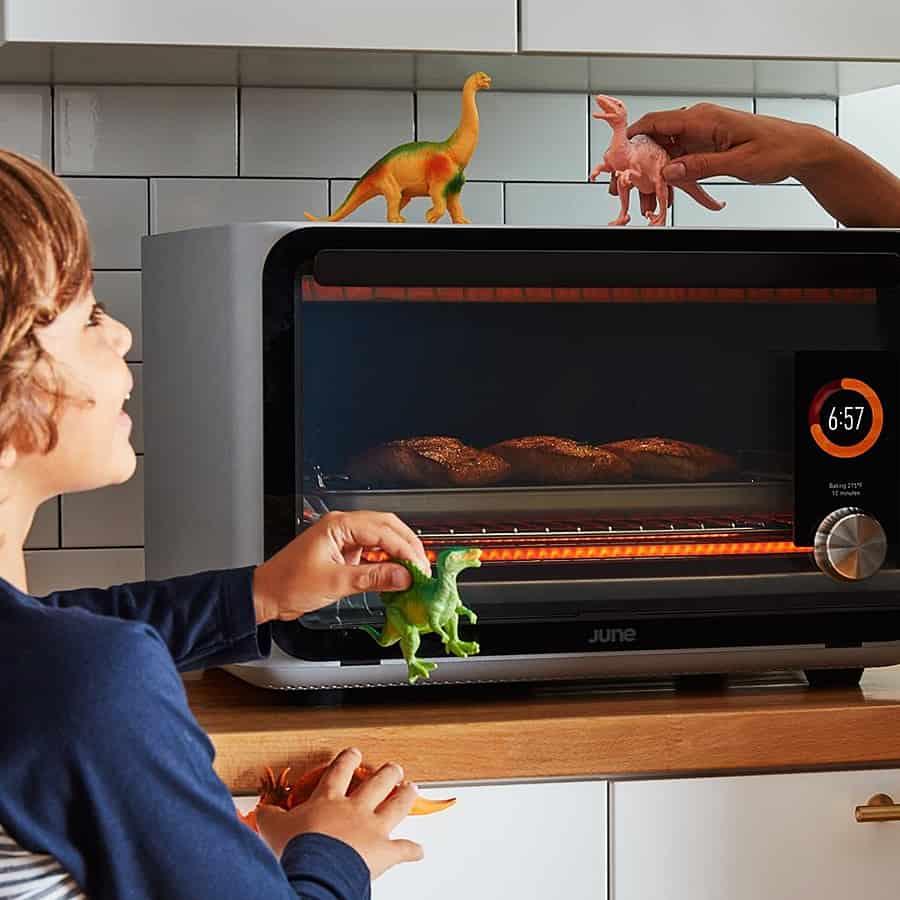 June Intelligent Oven Cooktops