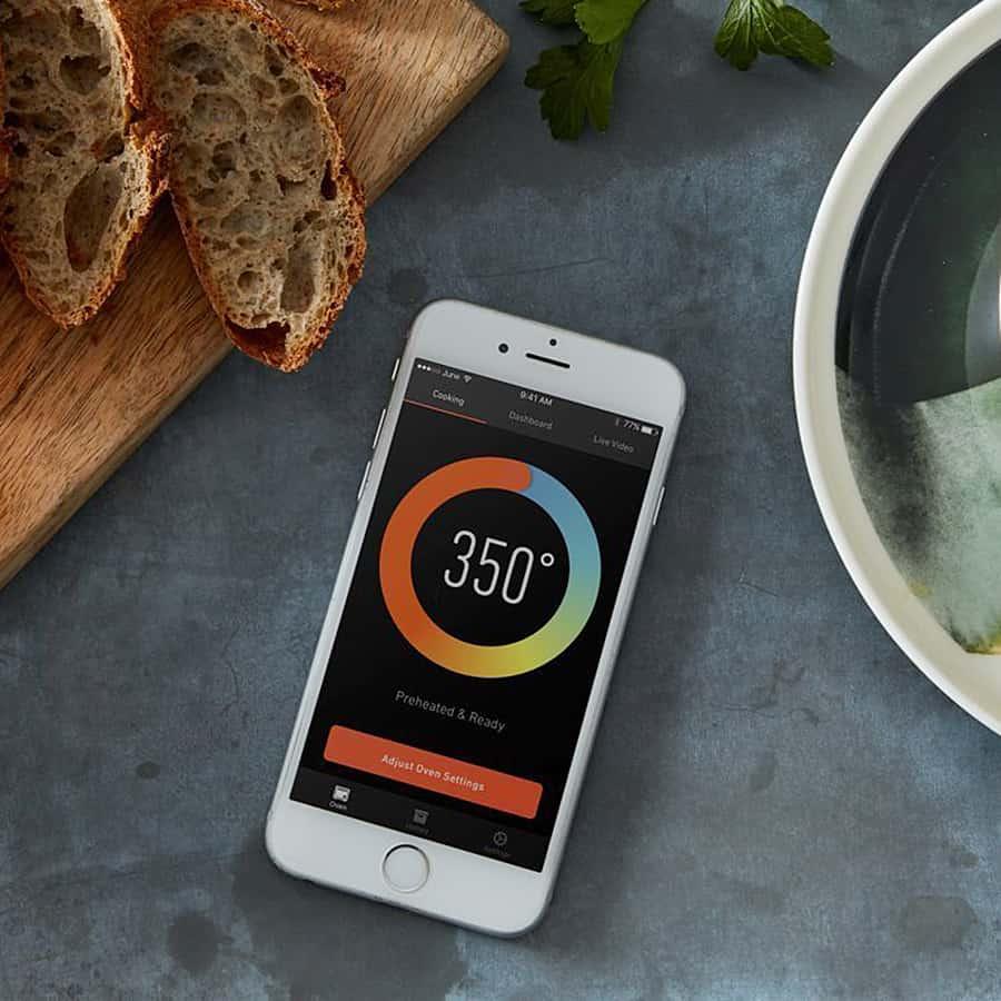 June Intelligent Oven Smartphone Compatible