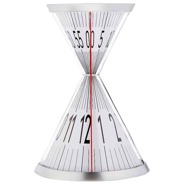Kikkerland Hourglass Desk Clock Desktop Product