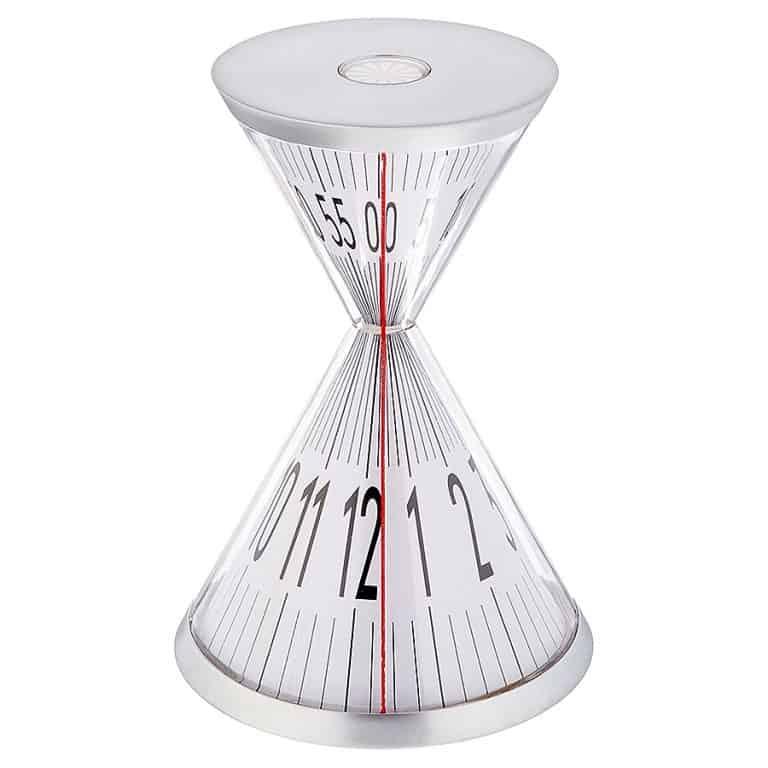 Kikkerland Hourglass Desk Clock Tabletop Item