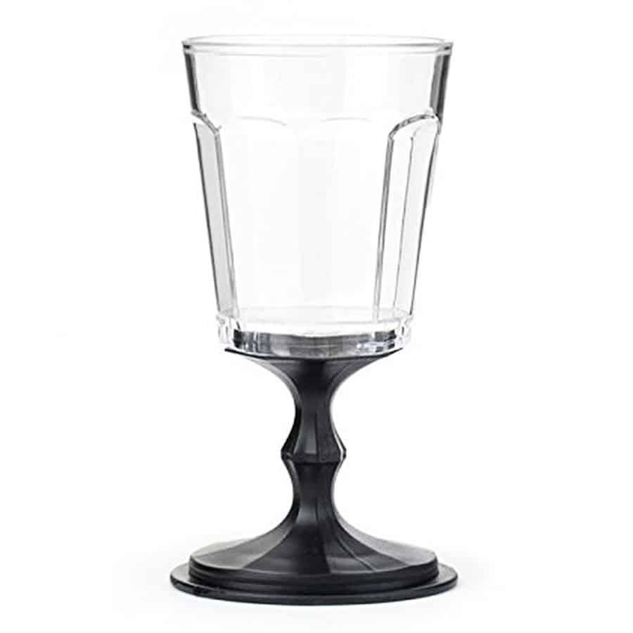 Kikkerland Stacking Wine Glass Drinkware