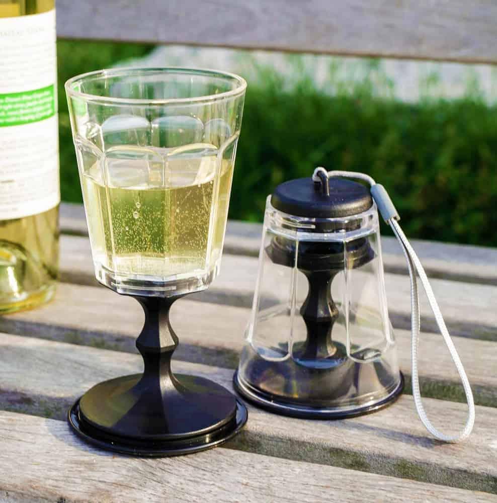Kikkerland Stacking Wine Glass Neat Gift Idea