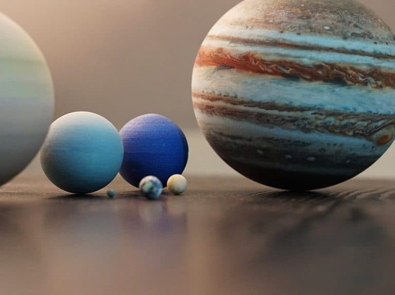 Little Planet Factory 8 Planets Of The Solar System 3D Printed Product