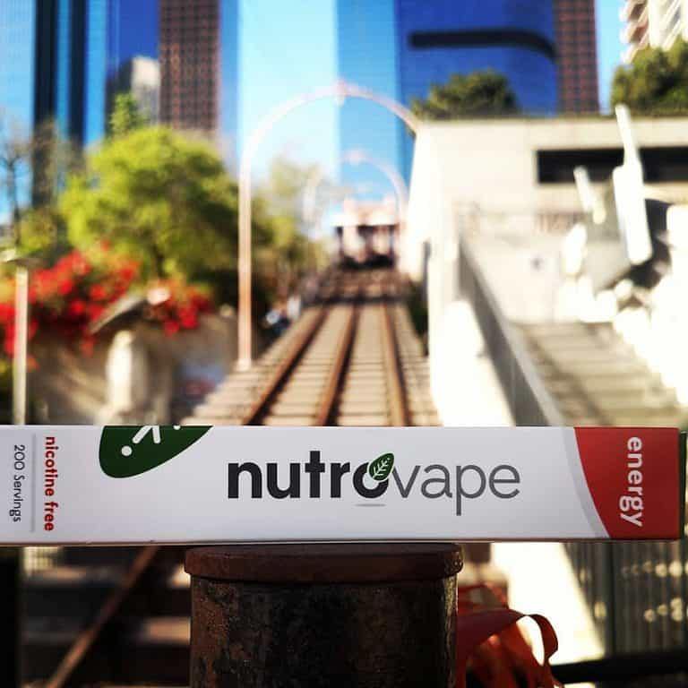 NutroVape Inhalable Energy Aid Nicotine Free