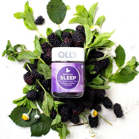 OLLY Restful Sleep Gummy Supplements Natural Ingredients