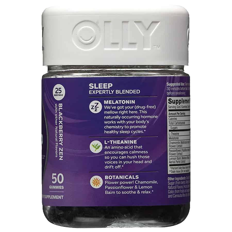 Olly Restful Sleep Gummy Supplements Noveltystreet