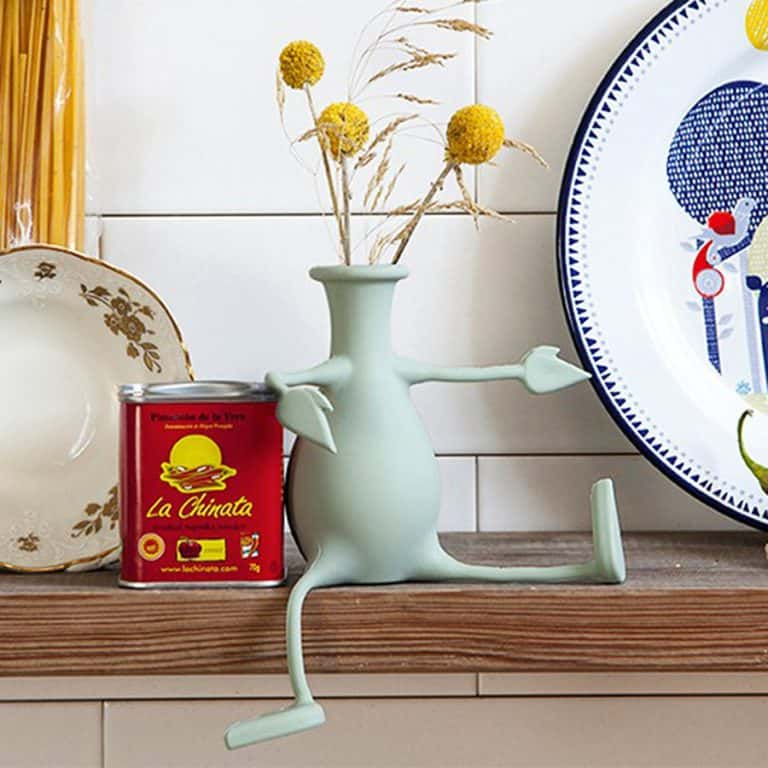 Peleg Design Florino Friendly Flower Vase Decoration