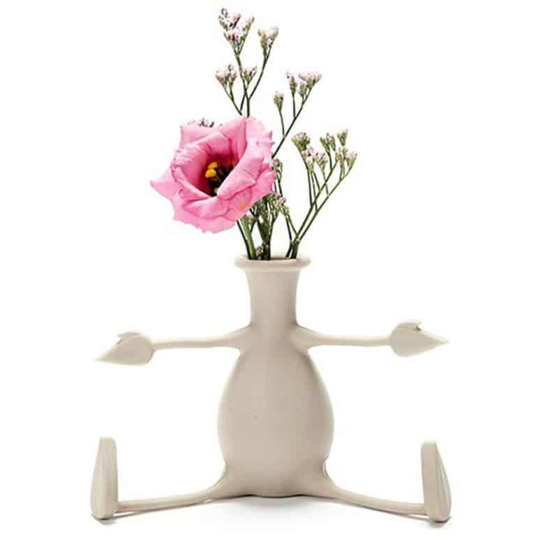 Peleg Design Florino Friendly Flower Vase Home Decor