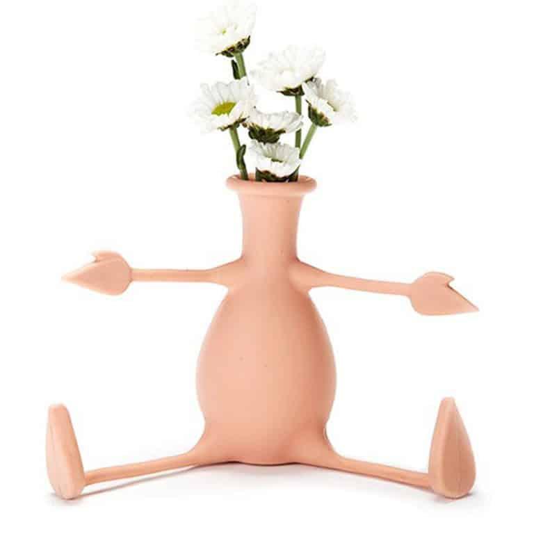 Peleg Design Florino Friendly Flower Vase Office Item