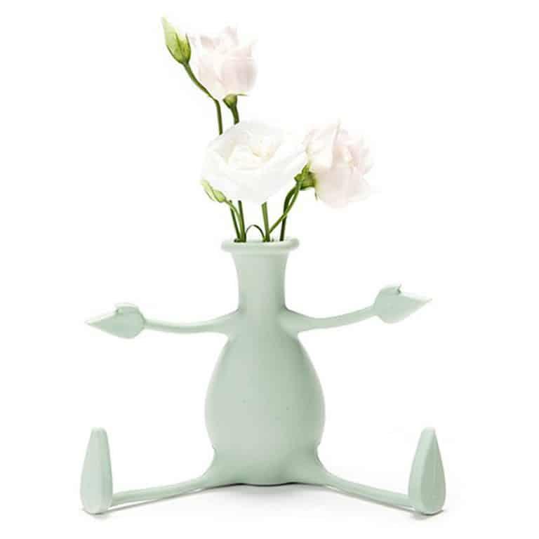 Peleg Design Florino Friendly Flower Vase Table Vase