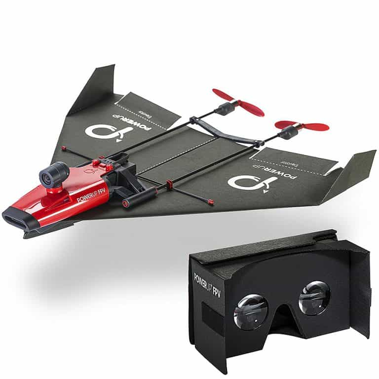 PowerUp FPV Paper Airplane VR Drone Model Kit FPV Viewer