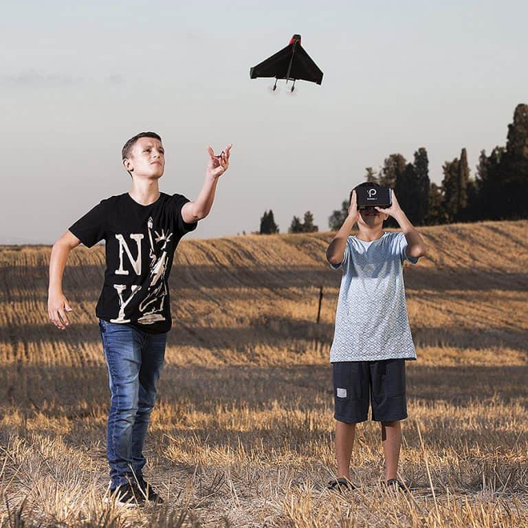 PowerUp FPV Paper Airplane VR Drone Model Kit Outdoor Activity