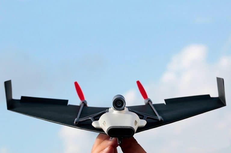 PowerUp FPV Paper Airplane VR Drone Model Kit Wifi Camera