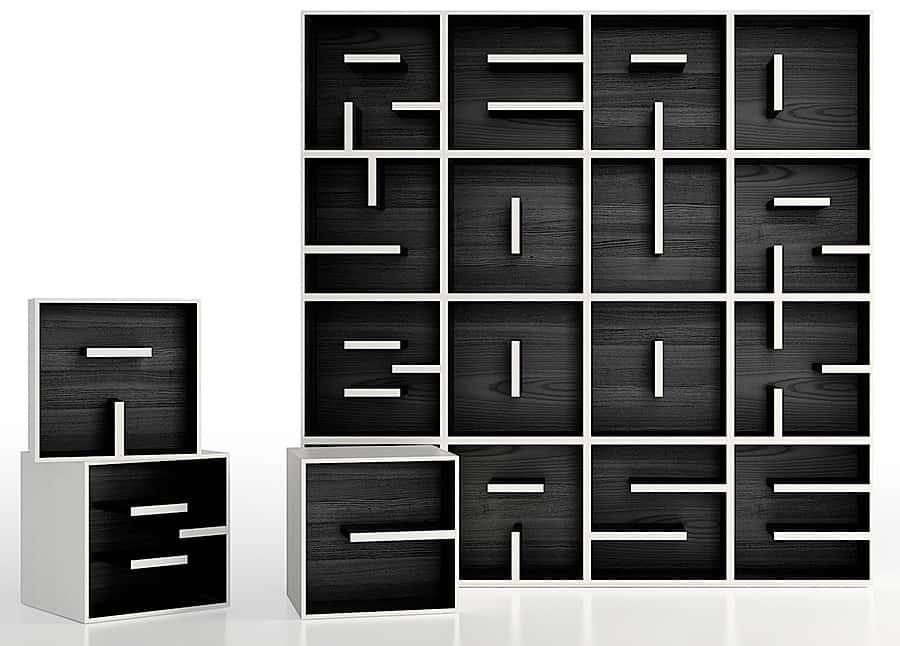 REdesign ABC Bookcase Furniture