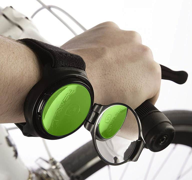 RearViz Arm Mounted Bicycle Rear View Mirror Safety
