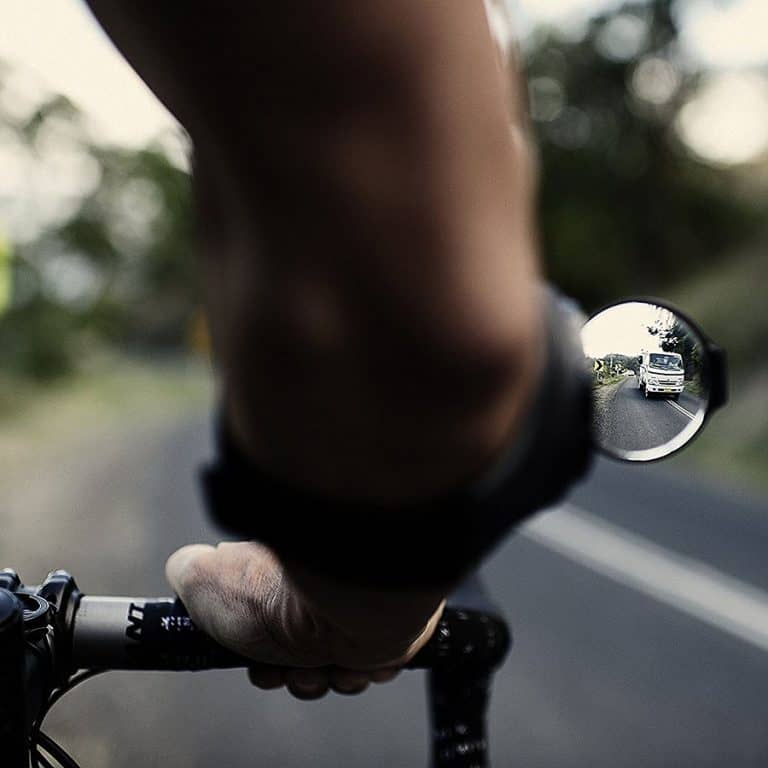 RearViz Arm Mounted Bicycle Rear View Mirror Side Mirror