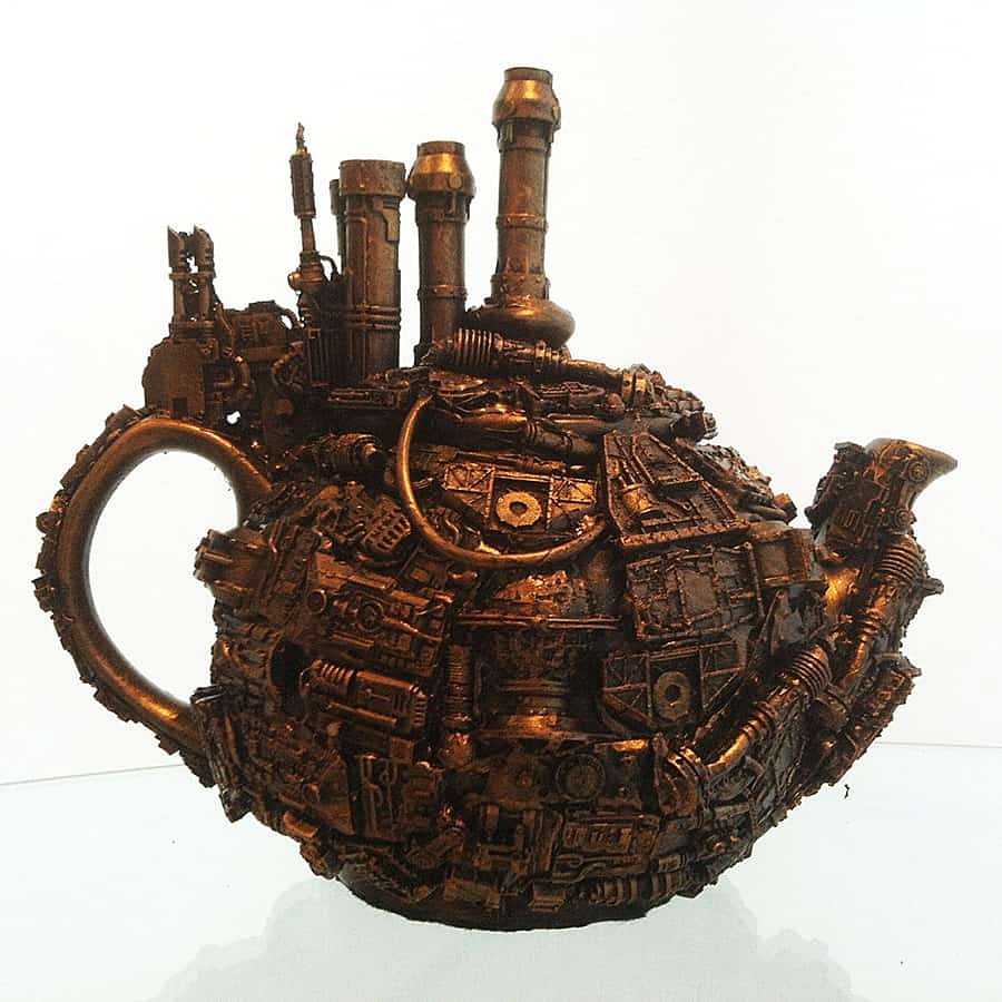 Can't spell Steampunk without a tea.