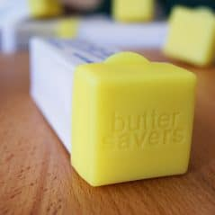 Save that butter!
