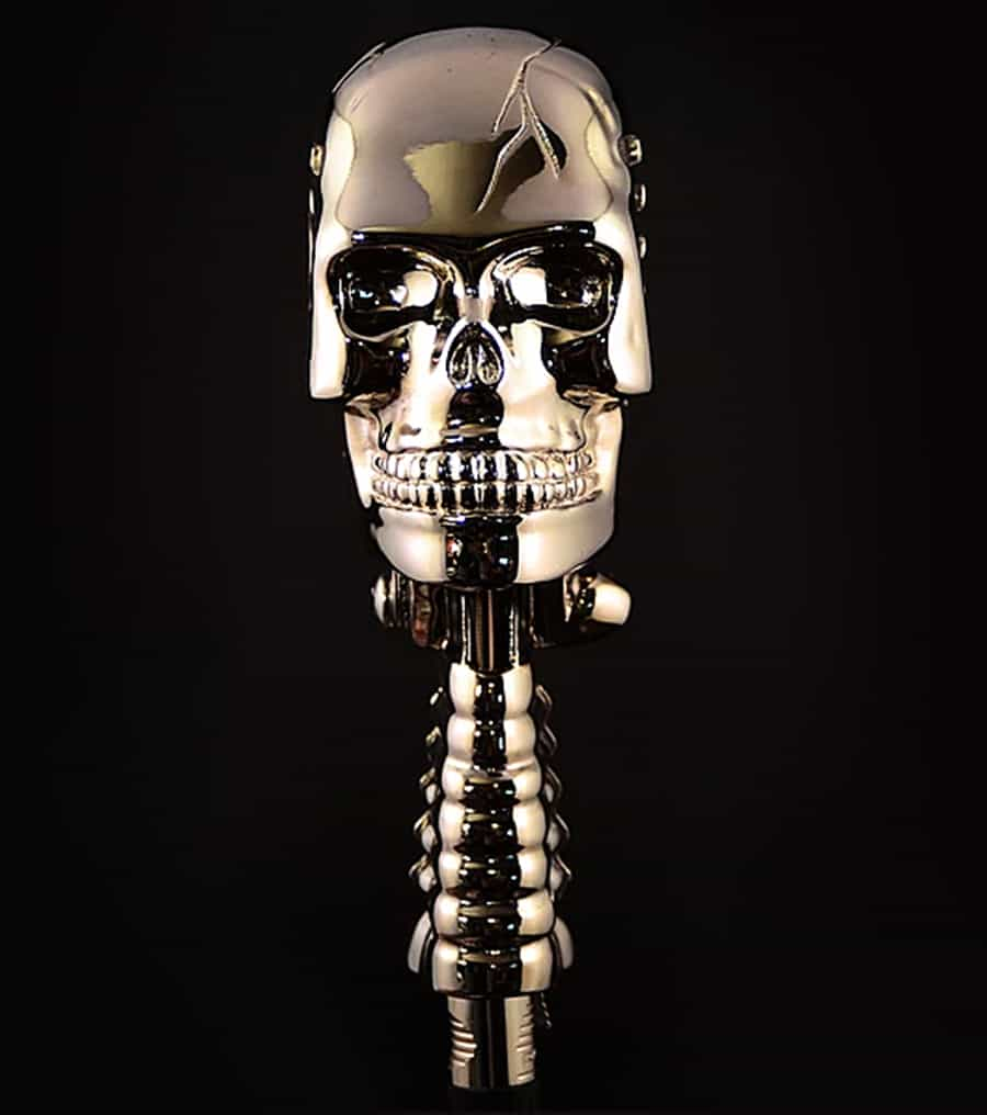 Skull Microphone Musical Instrument