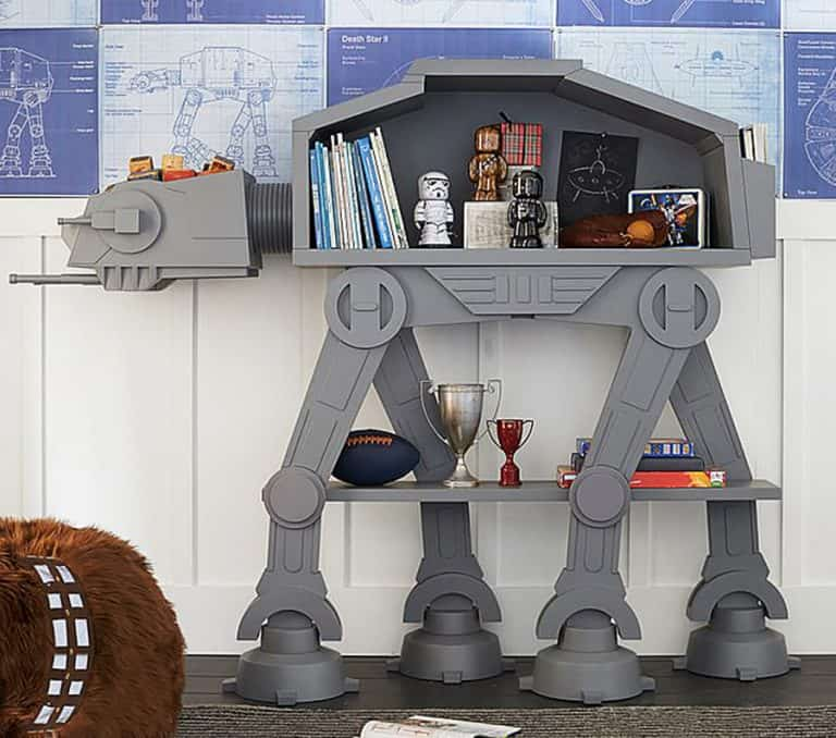 Star Wars AT-AT Bookcase Bedroom Item