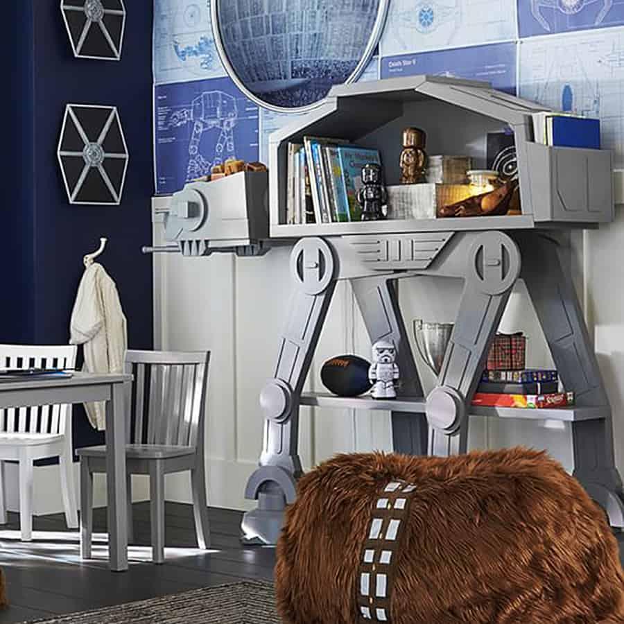 Star Wars AT-AT Bookcase Shelves