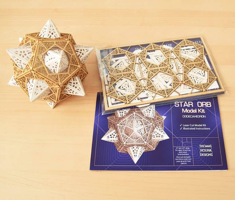 Thomas Houha Designs Star Orb Model Kit Decoration
