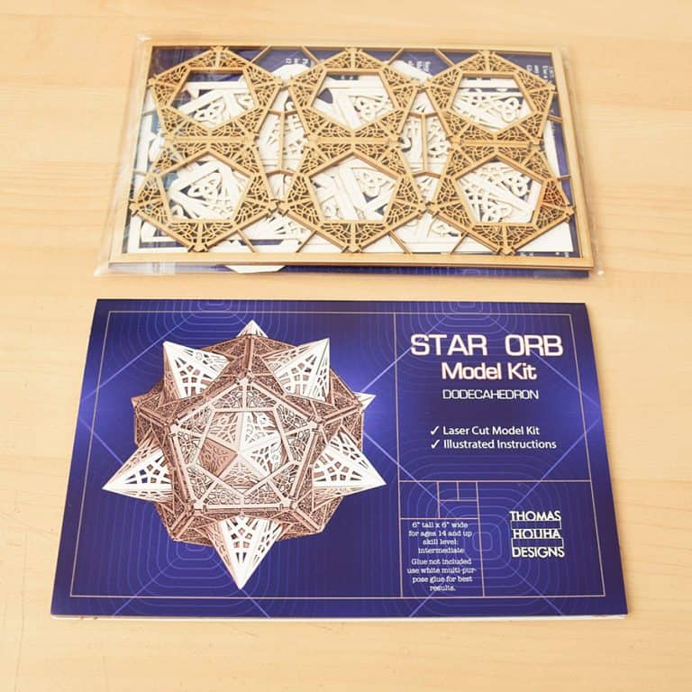 Thomas Houha Designs Star Orb Model Kit Novelty Product