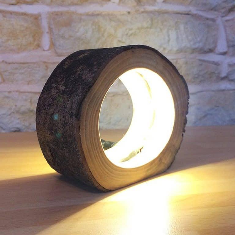 Unique Lighting Co LED Log Light Home Furniture