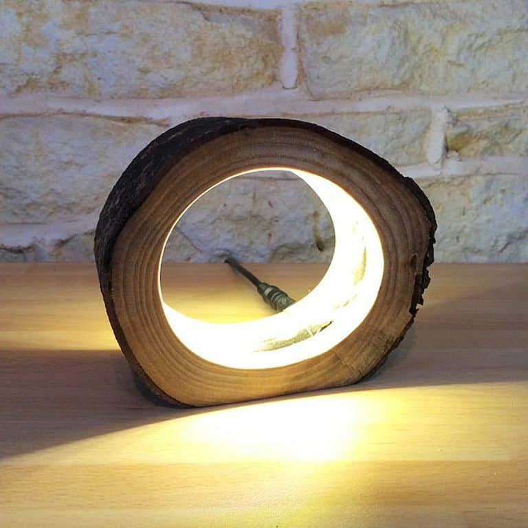 Unique Lighting Co LED Log Light House Decoration