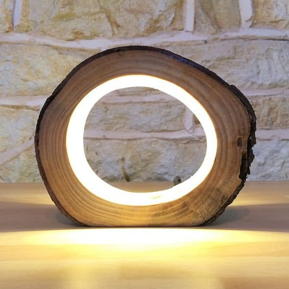 Unique Lighting Co LED Log Light Tabletop Item