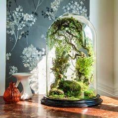 Vert + Sauvage Forest Terrarium Of Artificial Plants Pet Plant