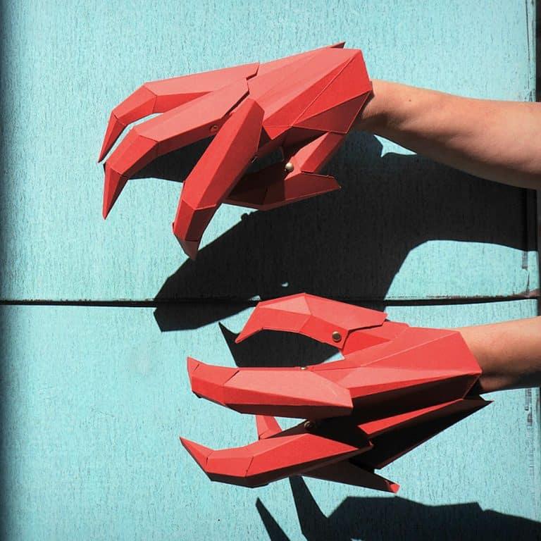 Wintercroft DIY Dragon Claws Costume