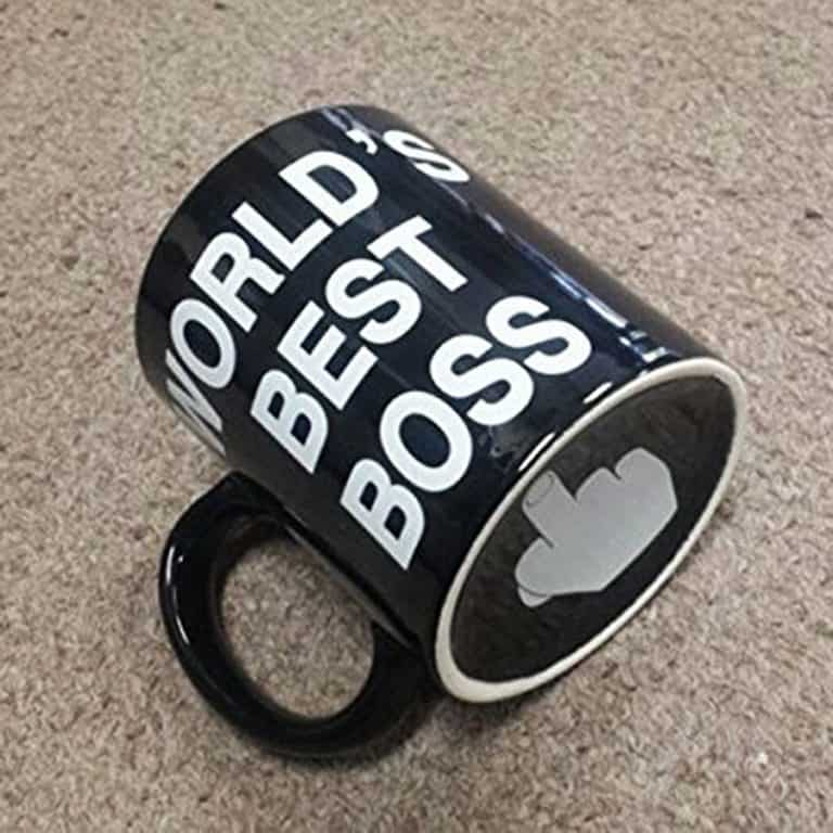 Worlds Best Boss Mug Novelties
