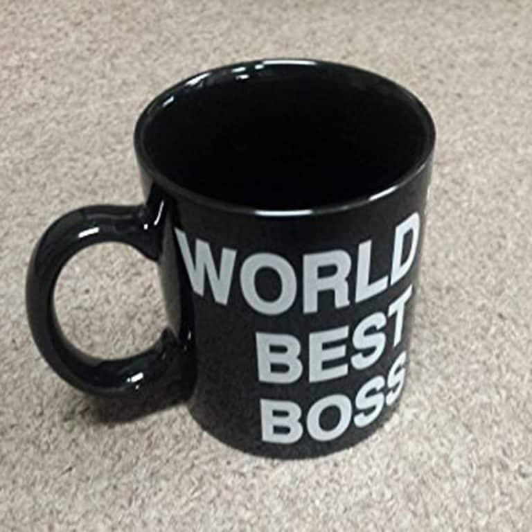 Worlds Best Boss Mug Officeware