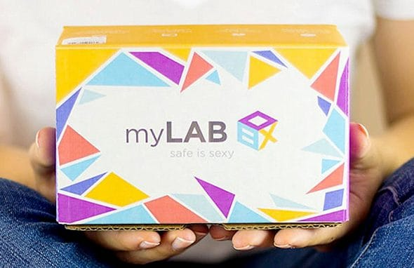 myLAB Box At Home STD Test for Men HIV Test