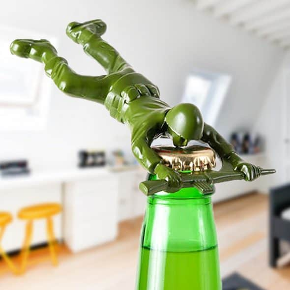 Army Man Bottle Opener Kitchen Tool