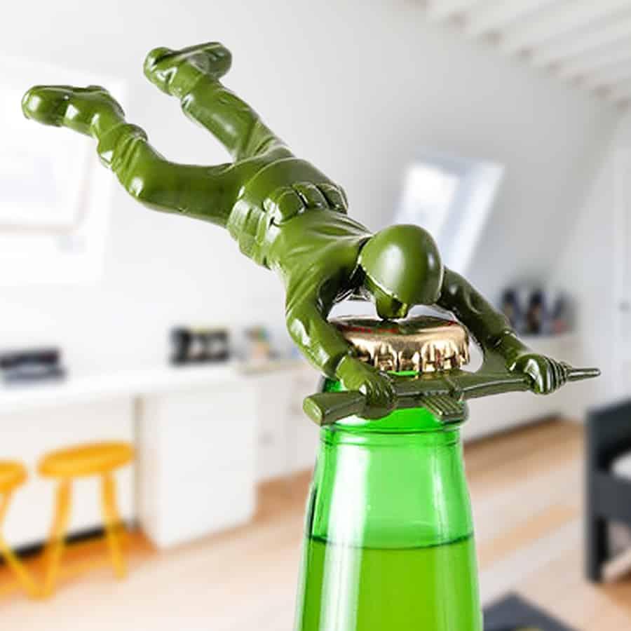 Army Man Bottle Opener Kitchen Tool