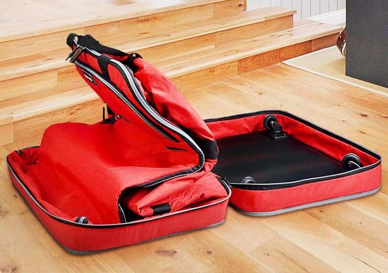 Biaggi Zipsak 4 Wheel Microfold Suitcase Zipper Closure