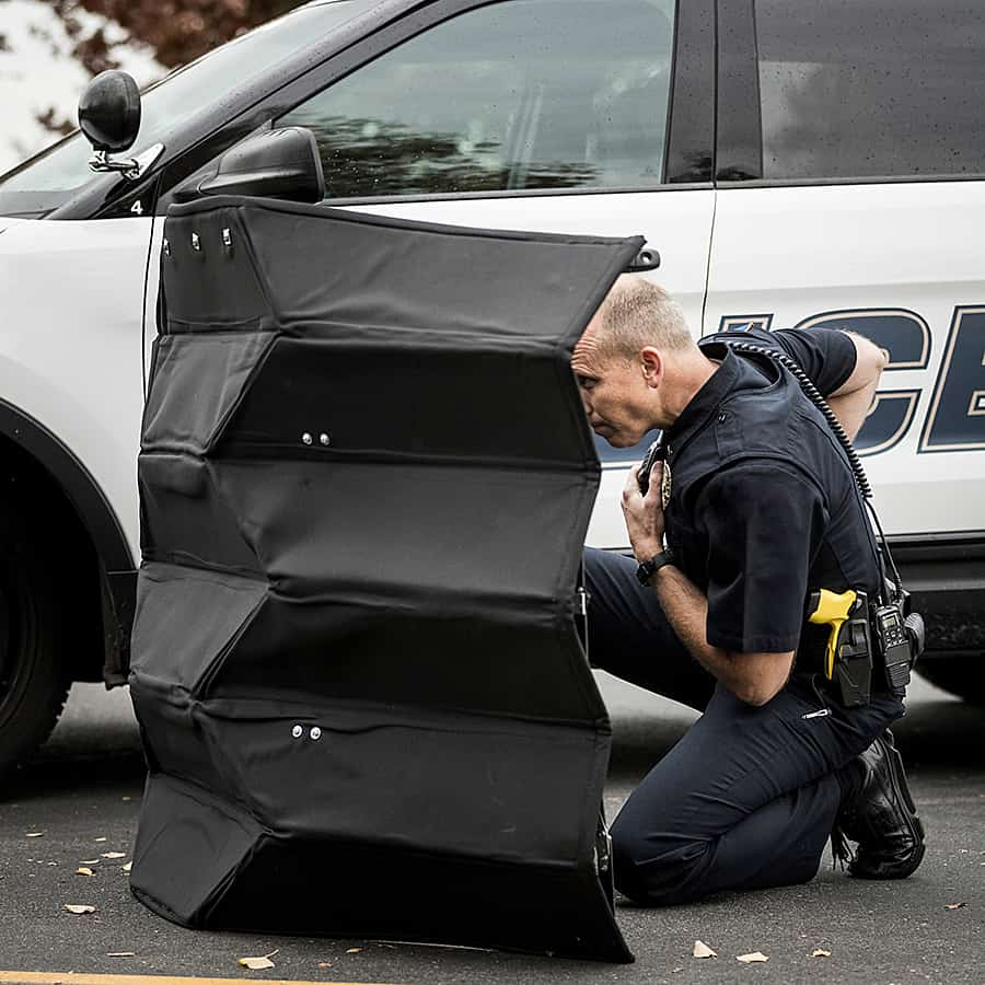 Brigham Young University Bulletproof Origami Shield Defence