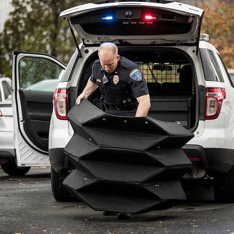Brigham Young University Bulletproof Origami Shield Kevlar