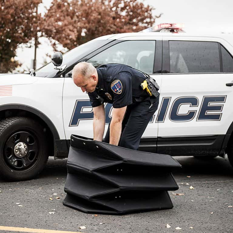 Brigham Young University Bulletproof Origami Shield Protection
