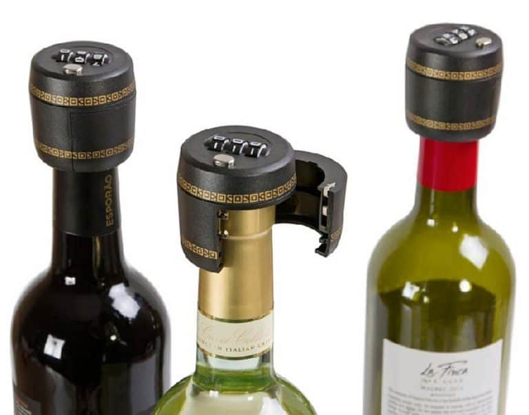 Carteret Collection Wine Combination Lock Bottle Lock