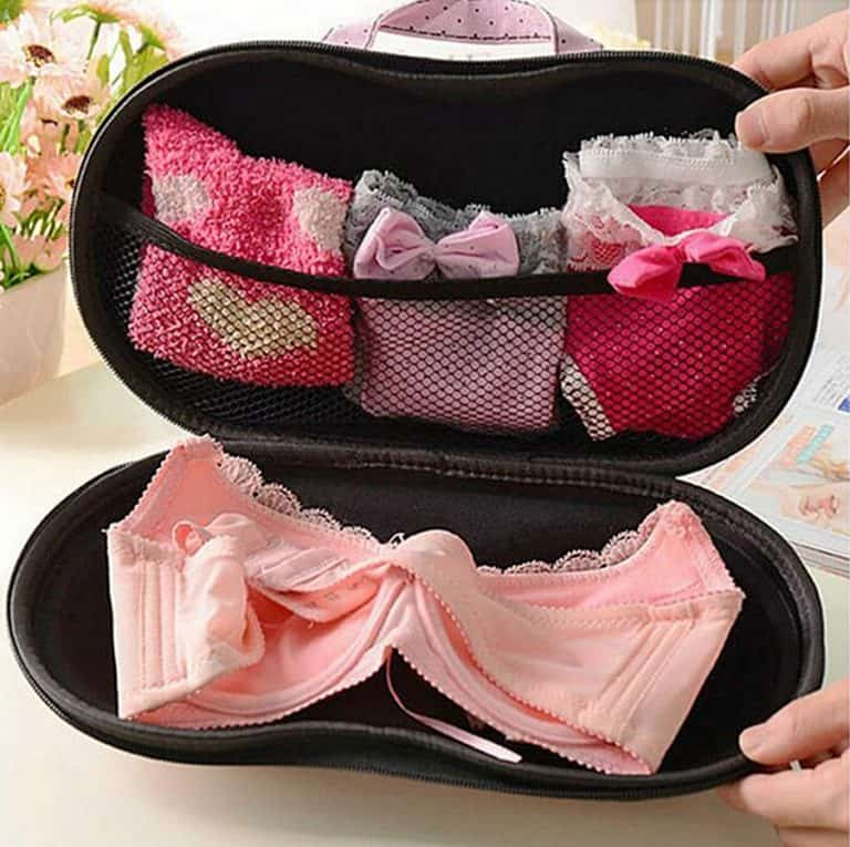 Daily Cosmo Bra & Panty Case Travel Pouch