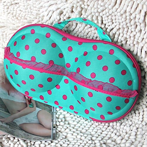 Daily Cosmo Bra & Panty Case Polka dots